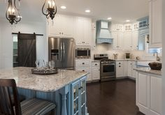 Bay to Beach Builder's Idea Home Kitchen located in Greenwood.