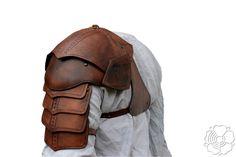 Shoulder armor + bracer (brown)1 by ~bellatoreslucis on deviantART