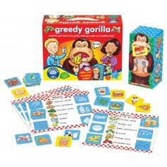 Greedy Gorilla Game - Orchard Toys Games - Puzzles & Games - Catalogue