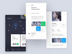 Mobile Design Inspiration is a feed with the best mobile interfaces, app icons and other iPhone iPad. Mobile App Design, Mobile App Ui, Web Design, Flat Design, Design Shop, Modern Design, 2017 Design, Graphic Design, App Design Inspiration