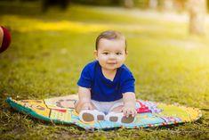 Ensaio fotográfico família no parque. Bebê 6 meses. Excesso de fofura! / Photoshoot family in the park. Baby 6 months. Excess cuteness!