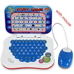 Learning Machine with mouse Tablet Toy Gift For Kid