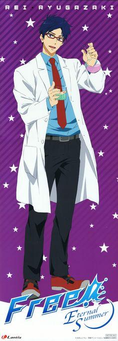 He looks BEAUTIFUL ( ͡° ͜ʖ ͡°) in that lab coat.. sorry