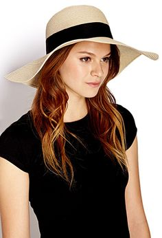 Keep Cool Straw Sun Hat | FOREVER21 PLUS - 2000088354
