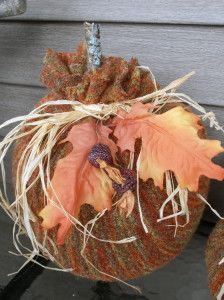10 Awesome Pumpkin Craft Ideas for Fall - #halloween + #thanksgiving ...