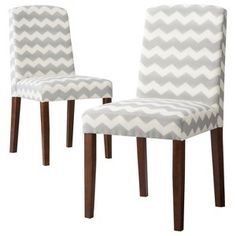Threshold™ Marion Upholstered Dining Chair Grey $170 set of 2.
