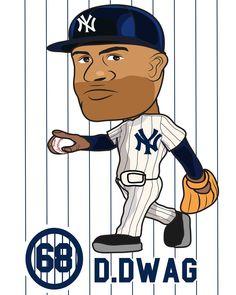 New York Yankees 68 Dellin Betances #nyy#newyorkyankees#newyork#yankees#68#setupman#reliefpitcher#rp#baseball#mlb#majorleaguebaseball#giant#ddwag#betances#evilempire#pinstripes#rookie#art#drawings#caricature#야구#셋업맨#뉴욕양키스#illustrate#일러스트#그림#wolverinstagram#민스타그램#캐리커쳐