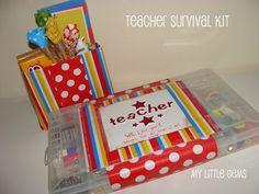 Teacher Appreciation Idea: Make A Teacher Survival Kit