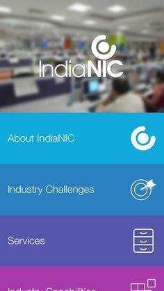 IndiaNIC App Screenshot