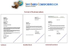 Business Letter Format Attention Line Sample Template With Sender