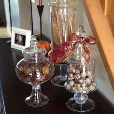 Autumn Apothocary jars