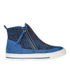 Loving this Cobalt Aaron Sneaker on #zulily! #zulilyfinds