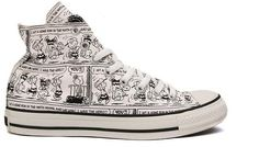 Converse x Snoopy Moda Converse, Converse Style, Converse All Star, Converse Shoes, Converse High, Converse Fashion, New Sneakers, Girls Sneakers, High Top Sneakers