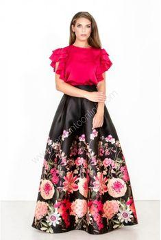 Floral, Skirts, Style, Fashion, Vestidos, Moda Femenina, Wedding, Swag, Moda