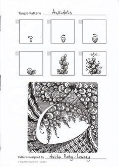 Die 100 Besten Bilder Von Zentangle Pattern A Doodles Doodles