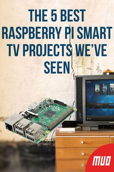 Smart TVs are everywhere now! Here are the best smart TV projects you can make with nothing more than a Raspberry Pi. New Computer Technology, Computer Projects, Arduino Projects, Electronics Projects, Diy Electronics, Raspberry Pi Alternatives, Projets Raspberry Pi, Tv 40, Marketing Strategies