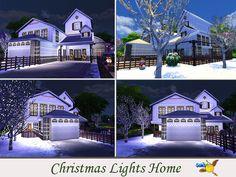 evi Christmas Lights Home Christmas And New Year, Christmas Fun, Yellow Summer Squash, Fun Snacks For Kids, Sims Community, Kids Videos, Christmas Lights, Sims 4, Kids Outfits