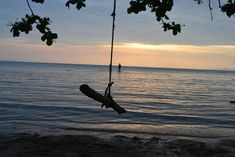 Sunset in Nathon Bay.