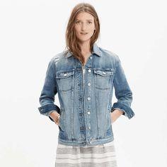 Madewell | The Oversized Jean Jacket #Madewell #oversized #jean #jacket