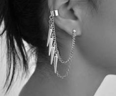 this is a cute edgy ear cuff