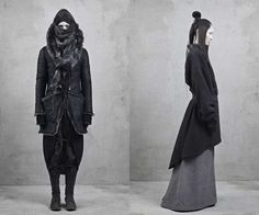 Modern Utilitarian Catwalks - The Topshop Unique Fall/Winter 2012/2013 Collection is Urban (GALLERY)