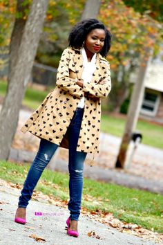 How to Style a Trench Coat: Fashion a La Mode Link Up - Lisa a la mode