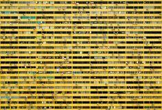 Artist: Julian Li #photography #building #yellow #urban #geometry