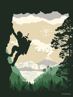 """""""Breath of Adventure"""" Graphic T-Shirt by Hookshot   Redbubble"""