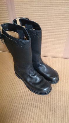 Original Bw Seestiefel Marine Stiefel Leder Knobelbecher Schuhe Motorradstiefel Business & Industrie Schuhe & Stiefel