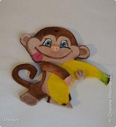 Мастер-класс Новый год Лепка Мк по лепке обезьяны из солёного теста Тесто соленое фото 5