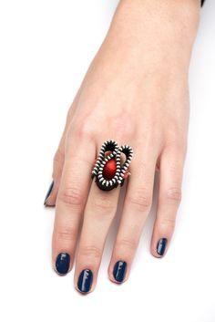 Δαχτυλίδι με φερμουάρ.