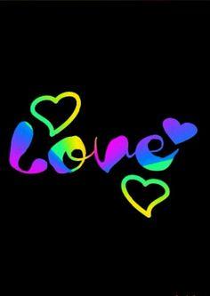 Artist Charles M. Butterfly Wallpaper, Heart Wallpaper, Love Wallpaper, Colorful Wallpaper, Cellphone Wallpaper, Heart Art, Love Heart, Peace And Love, Just Love
