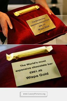 The Most Expensive Chocolate Bar in the World