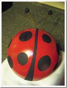 Lady Bug Bowling Ball