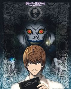 Poster Death Note Light et Ryuk