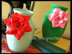 Make Anthro-Inspired Floral Vases