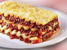 Receita de Lasanha De Carne Moida - 500 g de massa de lasanha, 500 g de carne moida, 2 caixas creme de leite, 2 ou 3 colheres de manteiga, 2 a 3 colheres de ...