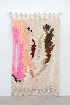 Ann Cathrin November Hoibo textiles at Standard Gallery, Oslo