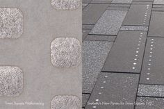 Times Square Wallcovering | Snøhetta's New Pavers for Times Square, NYC #InnovationsInspirations Flooring Types, Times Square, Nyc, New York