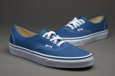 Vans Shoes - Authentic - Skateboarding - Navy