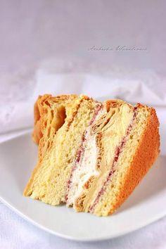 Arabeska : Tort królewski Vanilla Cake