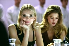 Lily Donaldson Photos Photos - Models Lily Donaldson (L) and  Doutzen Kroes, the face of Samsung Netherlands, attend the Paris Fashion Week Tasting Night with Galaxy featuring Brad Goreski, model Jessica Stam and Samsung's Executive Vice President of Global Marketing for Mobile Communications, Younghee Lee  at Four Seasons Hotel George V on March 7, 2015 in Paris, France. - Tasting Night With Samsung Galaxy During Paris Fashion Week