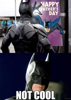 Not cool... Poor Bruce :(