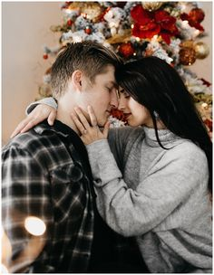 Nicole Aston Photography, Utah wedding photography, Christmas in-home session, in home photoshoot, engagement pictures, engagement pose ideas, Christmas couples pictures, engagement outfit ideas, winter engagements
