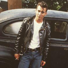 #crybaby #johnnydepp #greaser #1950s #badboy #dangerkat #butcherjames