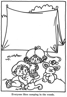 Vintage Kenner / American Greetings Strawberry Shortcake - Strawberry Shortcake's Summer Fun Coloring Book _____________________________ (Purchased from Etsy as a digital book, but I'm 99% certain it was taken from Bonnie Jones' Picasa, and the Etsy seller just left out the coloured pages.  https://picasaweb.google.com/116132144965793723825/ColoringBookStrawberryShortcakeSSummerFunColoringBook?noredirect=1)