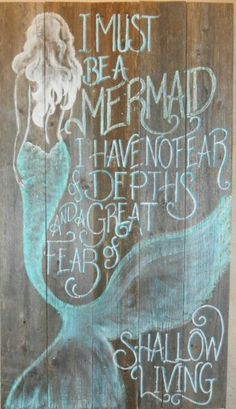 Mermaid thoughts