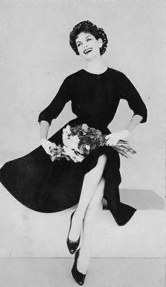 Anne St Marie March Vogue 1958 by Leombruno Bodi