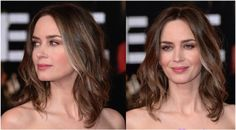 Find out why shoulder-length hairstyles are flattering to everyone, no matter her face shape, hair texture or body type. Plus, I pick the best shoulder-length cuts today.: Emily Blunt: Sweet & Subdued