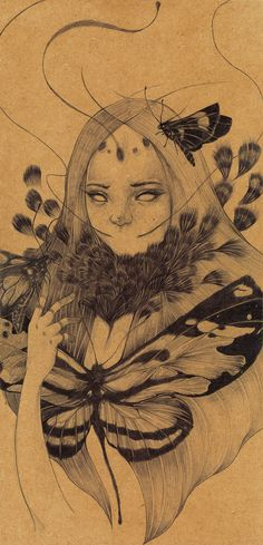 Lamproptera Meges by Evens Joseph, via Behance